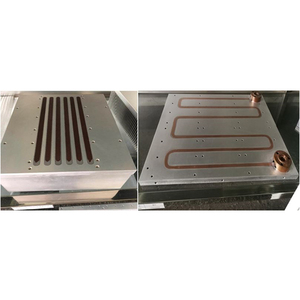 RTW Series Copper Aluminum precision Shovel heat sink